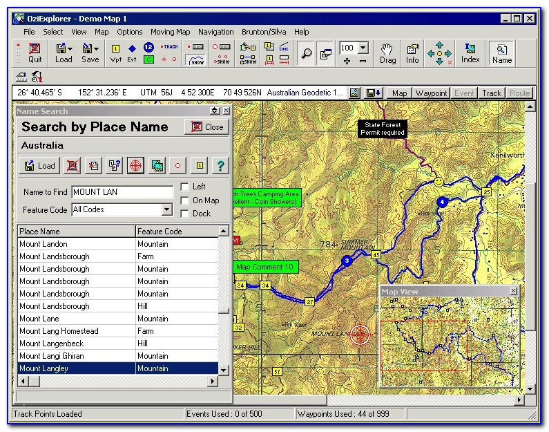 Gps Map Software Free
