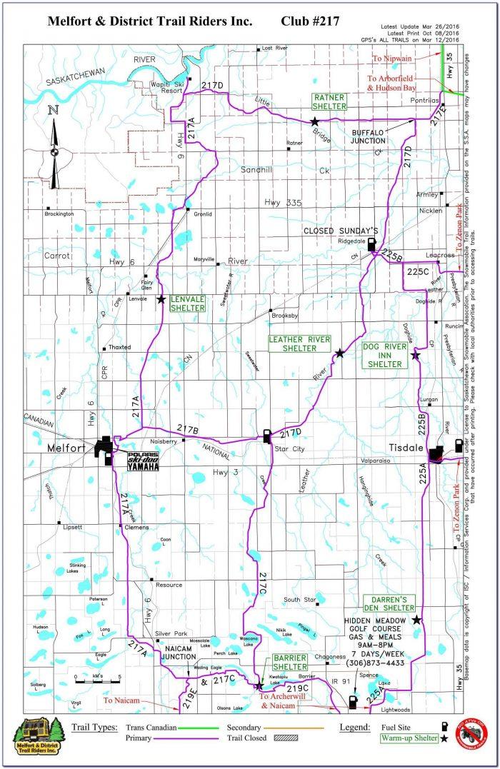 Snowmobile Trail Maps Gps Fresh Snowmobile Trail Maps