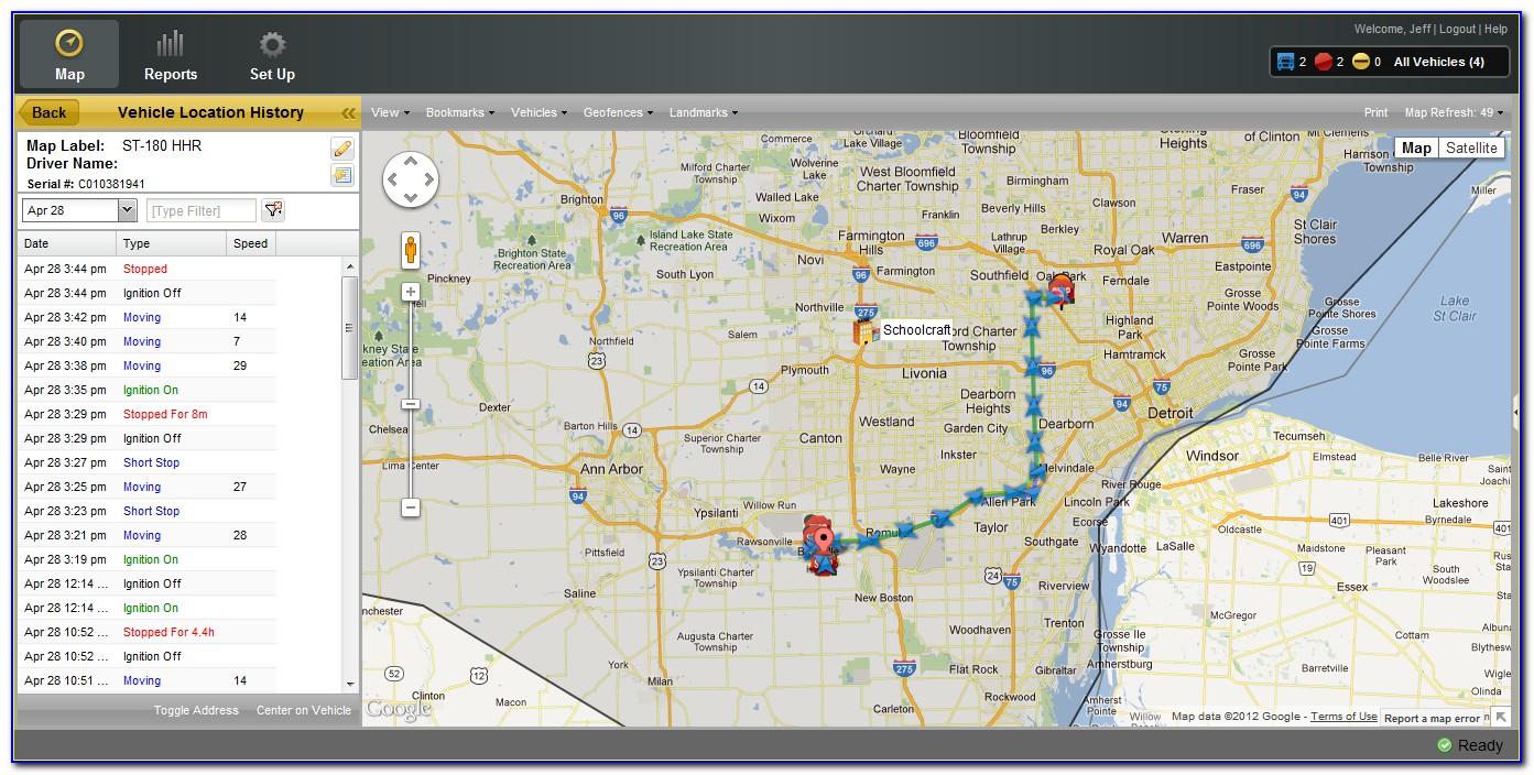 Gps Tracker Map App