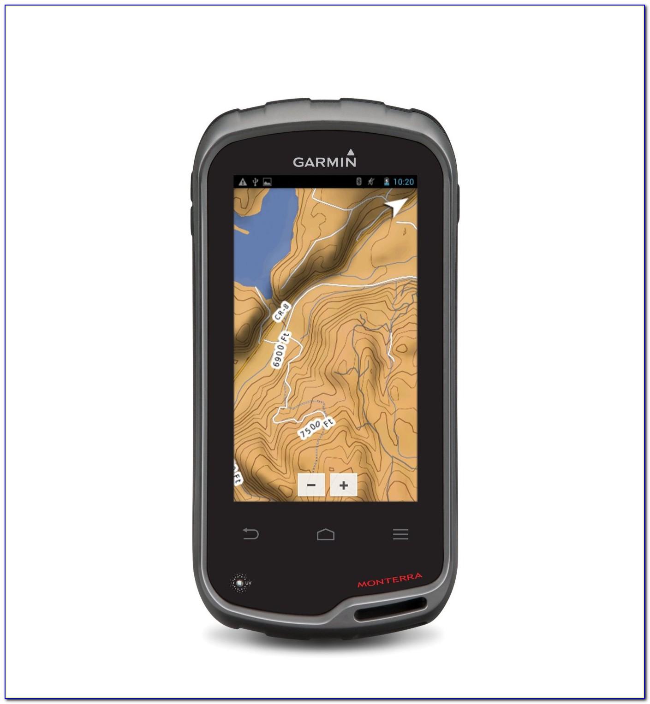 Handheld Gps With Google Maps