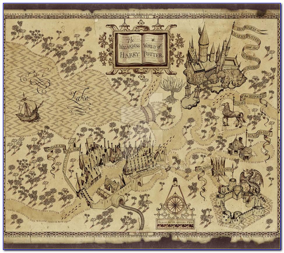 Harry Potter Marauders Map Mug Mischief Managed