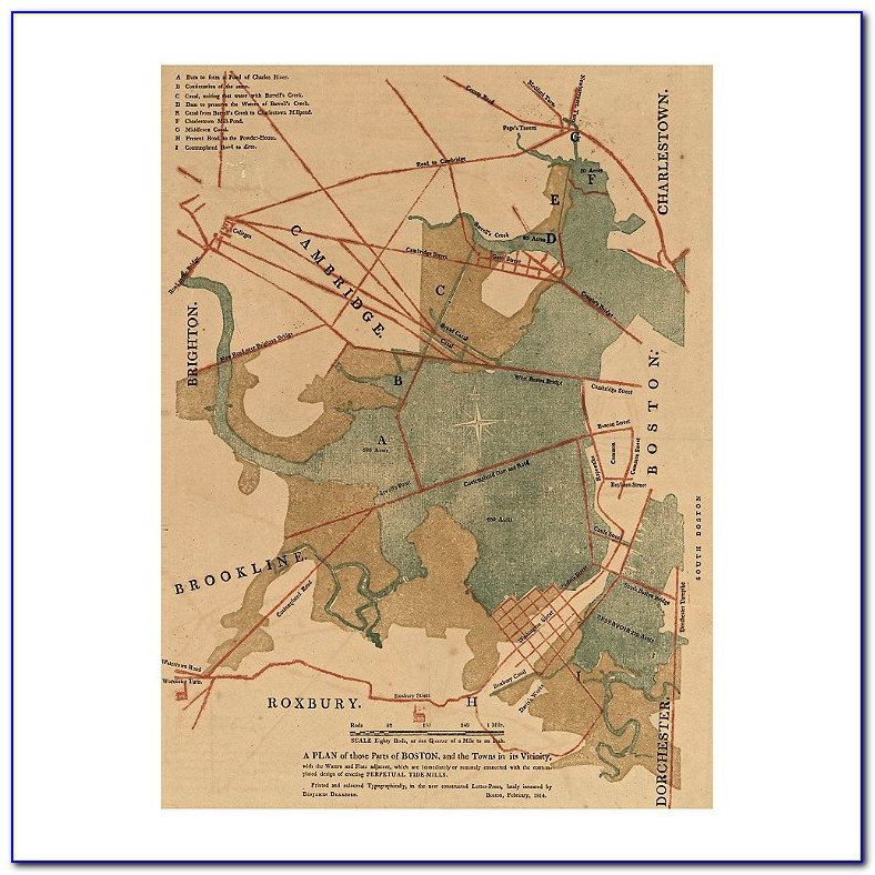 Heirloom Quality Magnetic Maps
