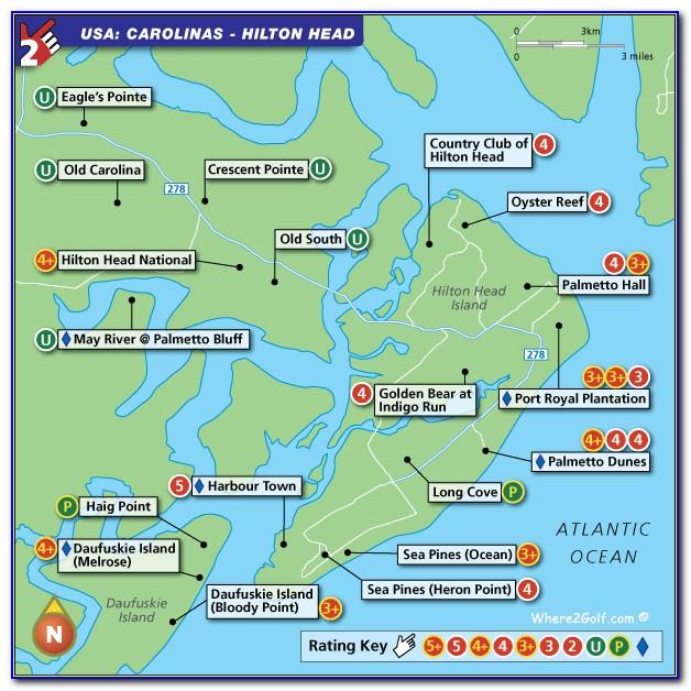 Hilton Head Omni Map