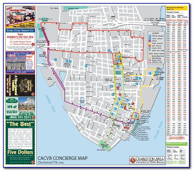 Historic Charleston Walking Map