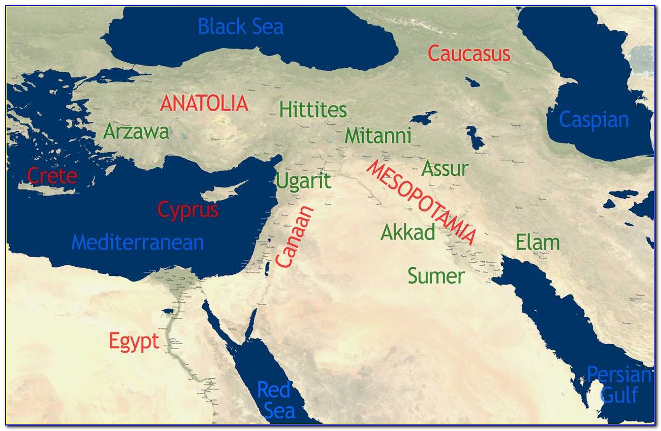 Historic Maps Of The Middle East