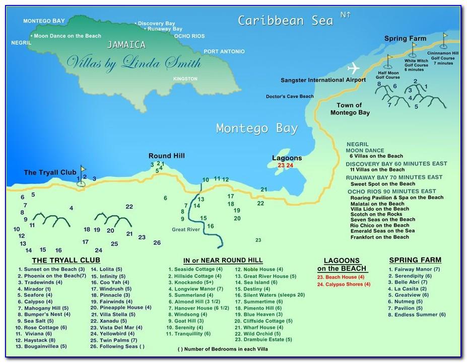 Holiday Inn Montego Bay Hotel Map