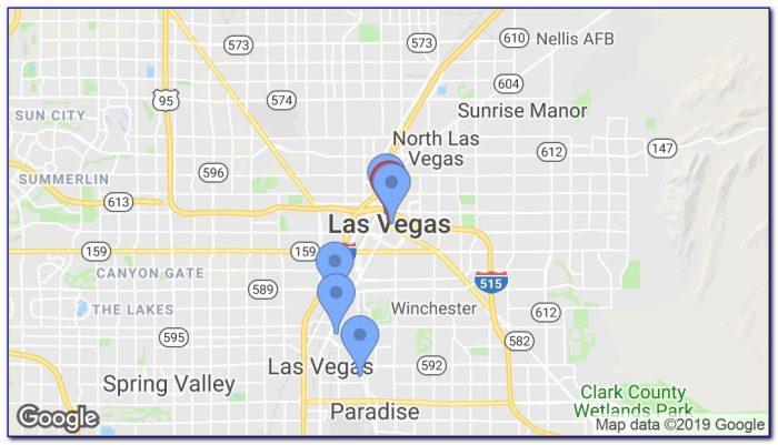Hop On Hop Off Bus Las Vegas Map
