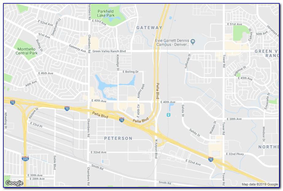 Hotels Near Denver Airport Map