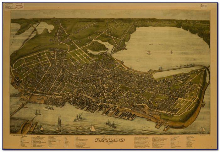 How To Frame Antique Maps
