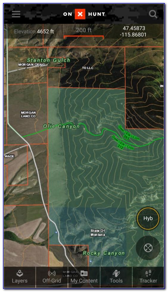 Hunting Maps For Garmin Oregon