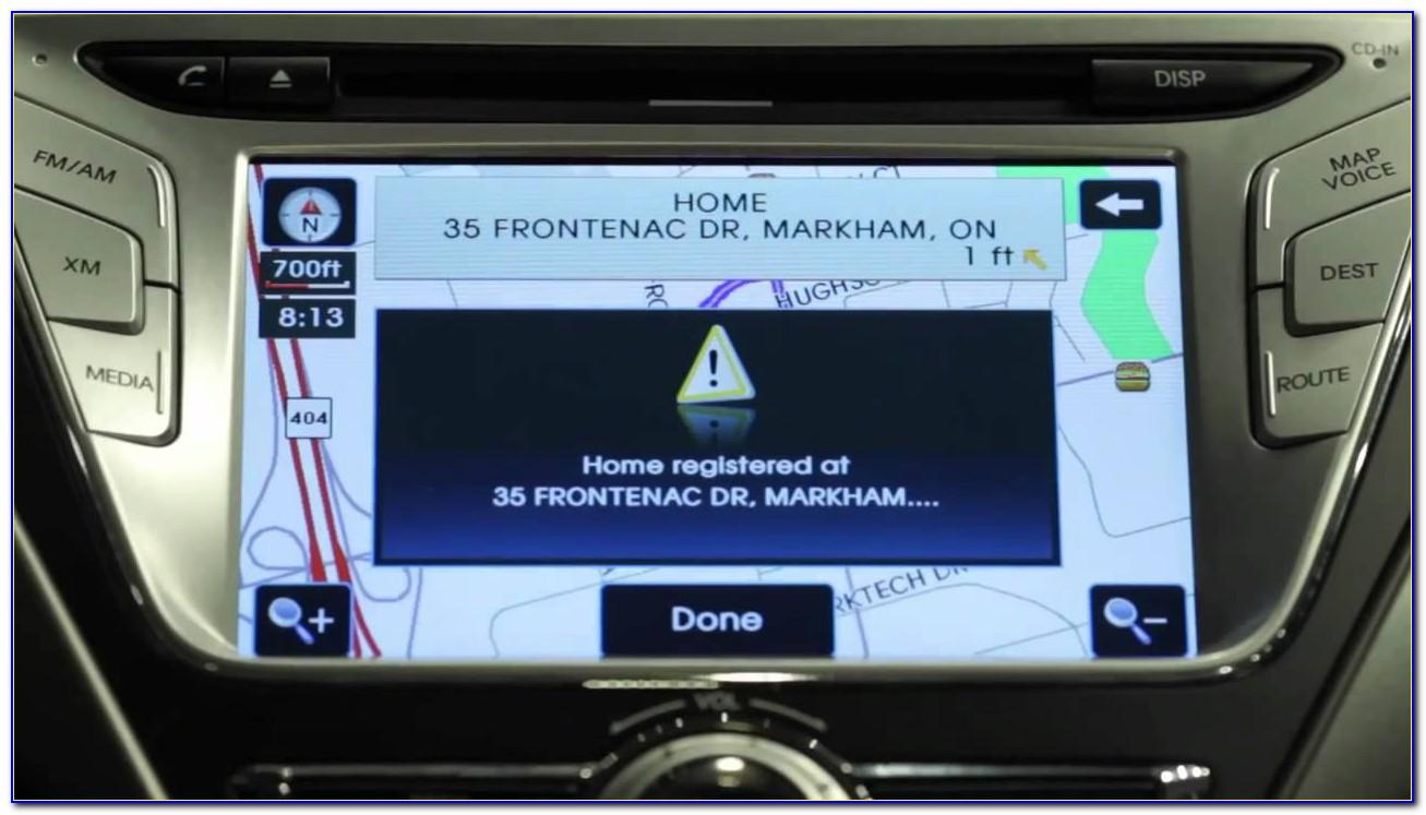 Hyundai Veloster Gps Map Update