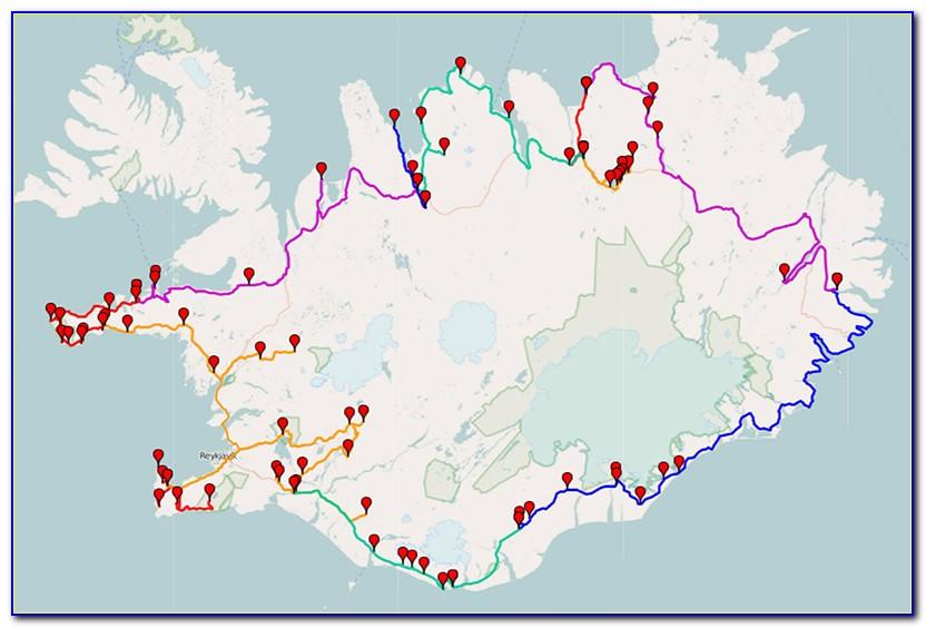 Iceland Ring Road Google Maps