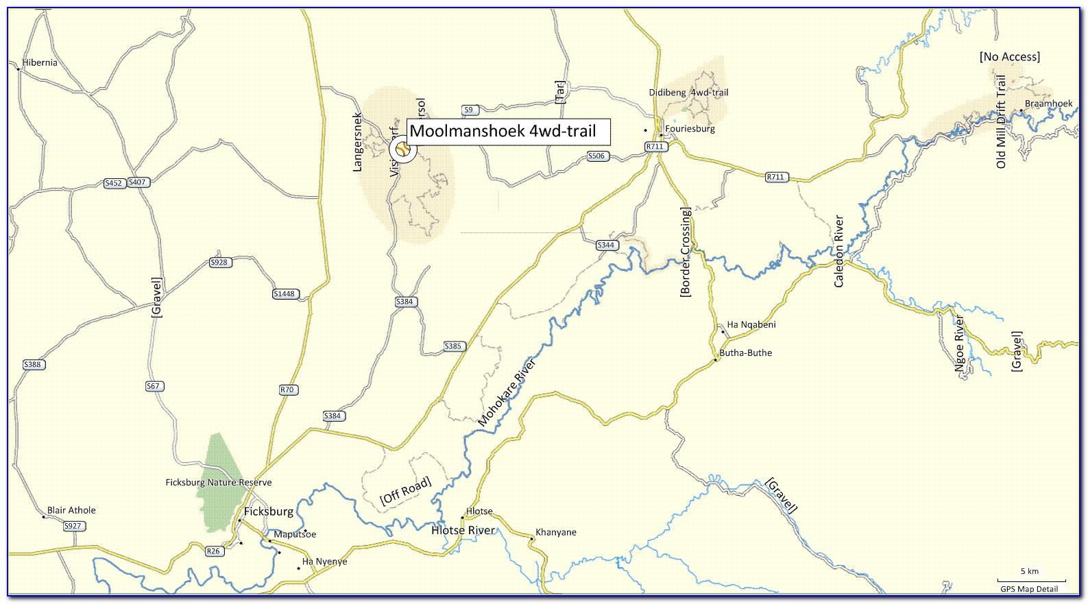 Idaho 4x4 Trail Maps