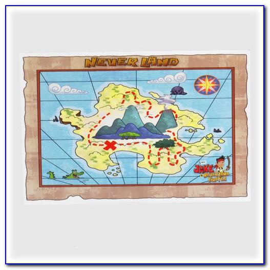 Jake And The Neverland Pirates Treasure Map Pdf