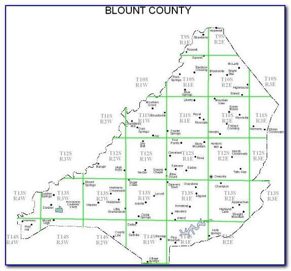 Jefferson County Alabama Land Ownership Maps
