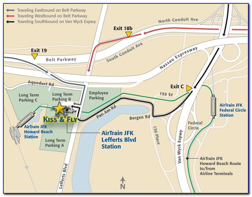 Jfk Airport Long Term Parking Directions