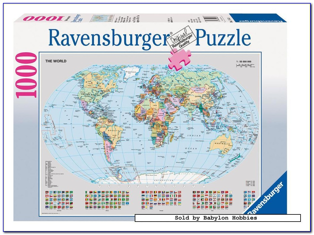Jigsaw Puzzle Maps Of The Continents In Montessori
