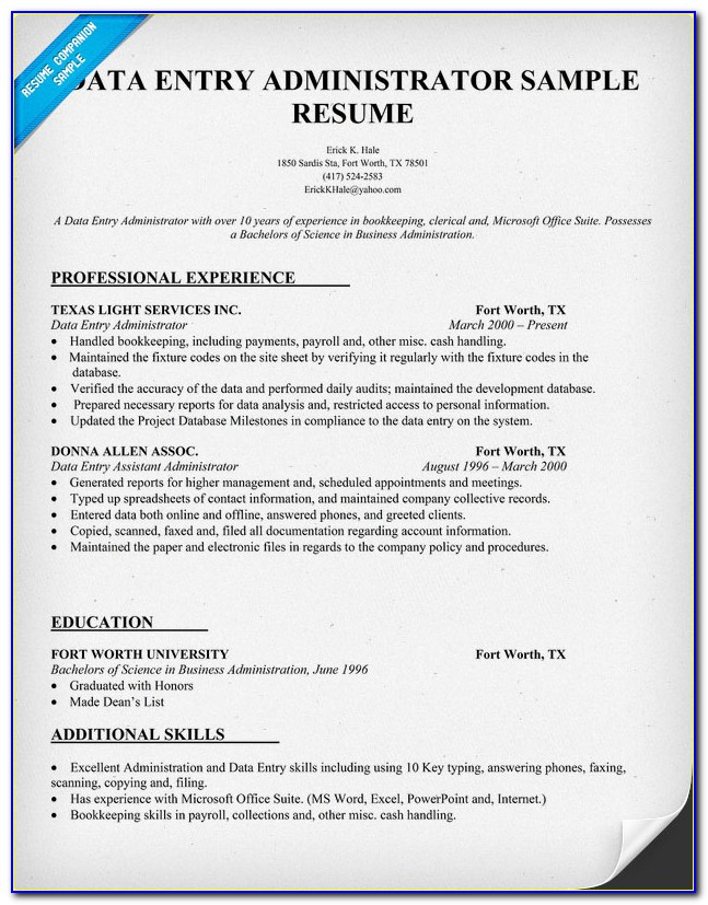 Job Resume Posting Sites