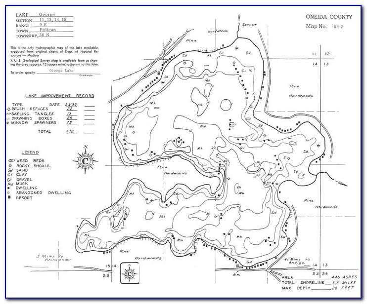 Lake George Florida Topographic Map