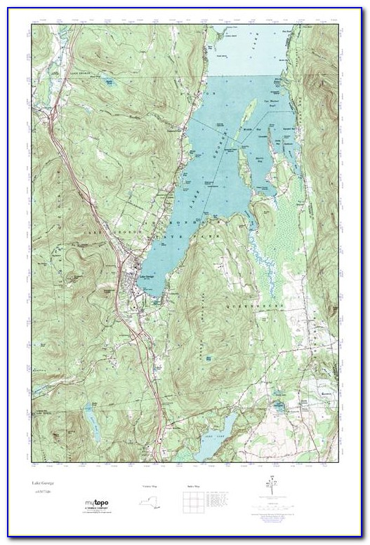 Lake George Wi Topographic Map