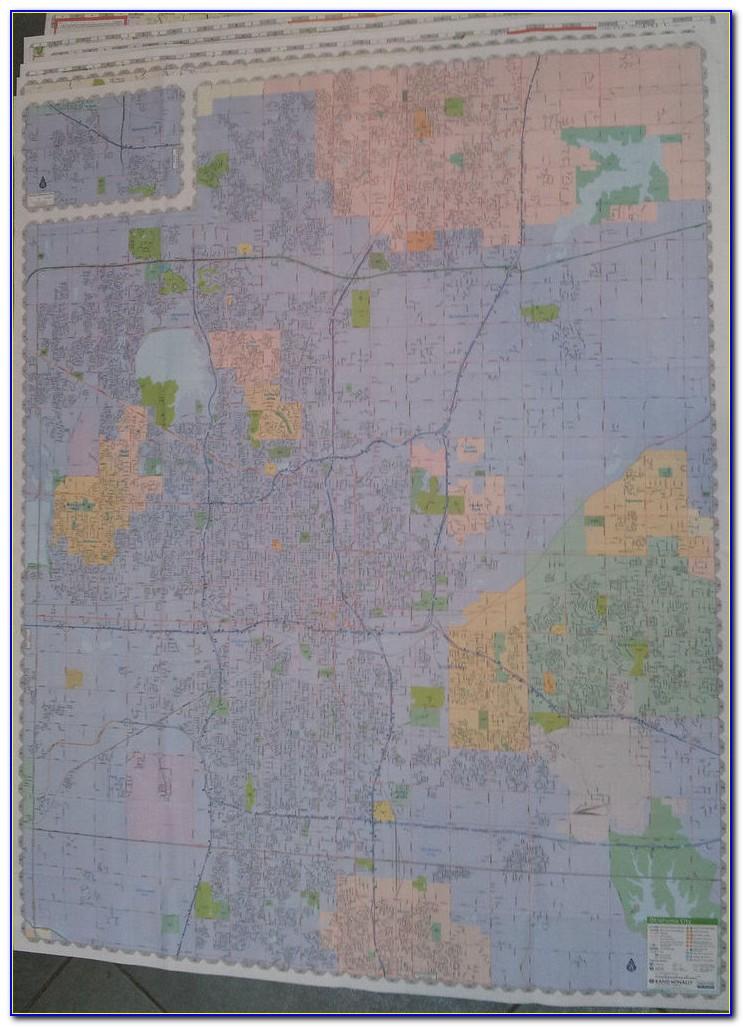Laminated City Maps