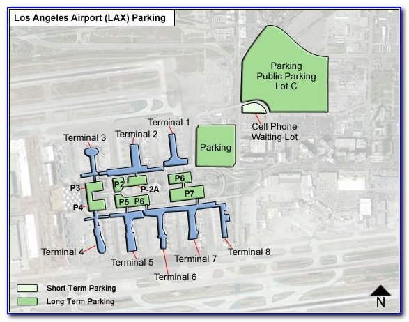 Lax Long Term Parking Directions