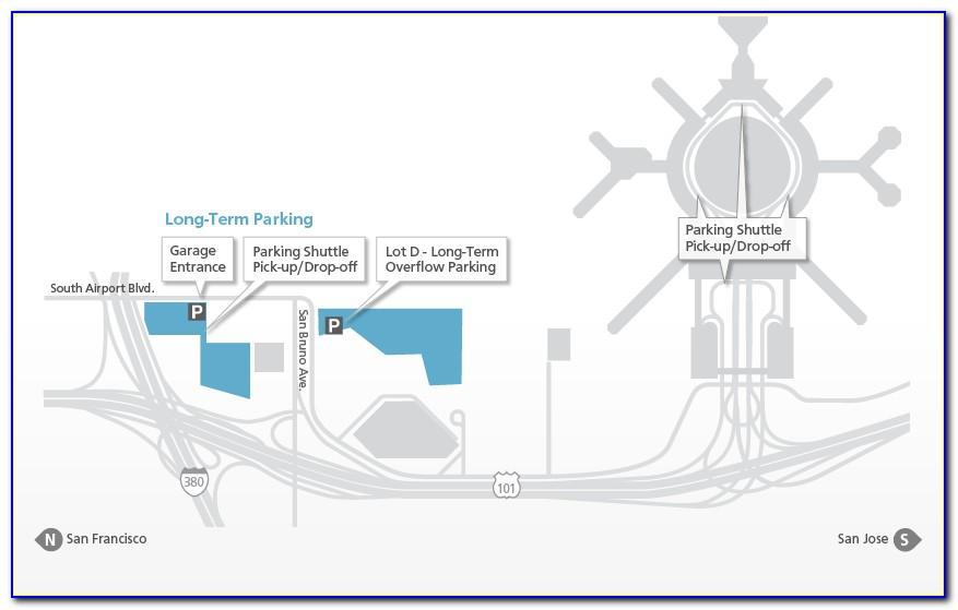 Lax Long Term Parking Lot C Map