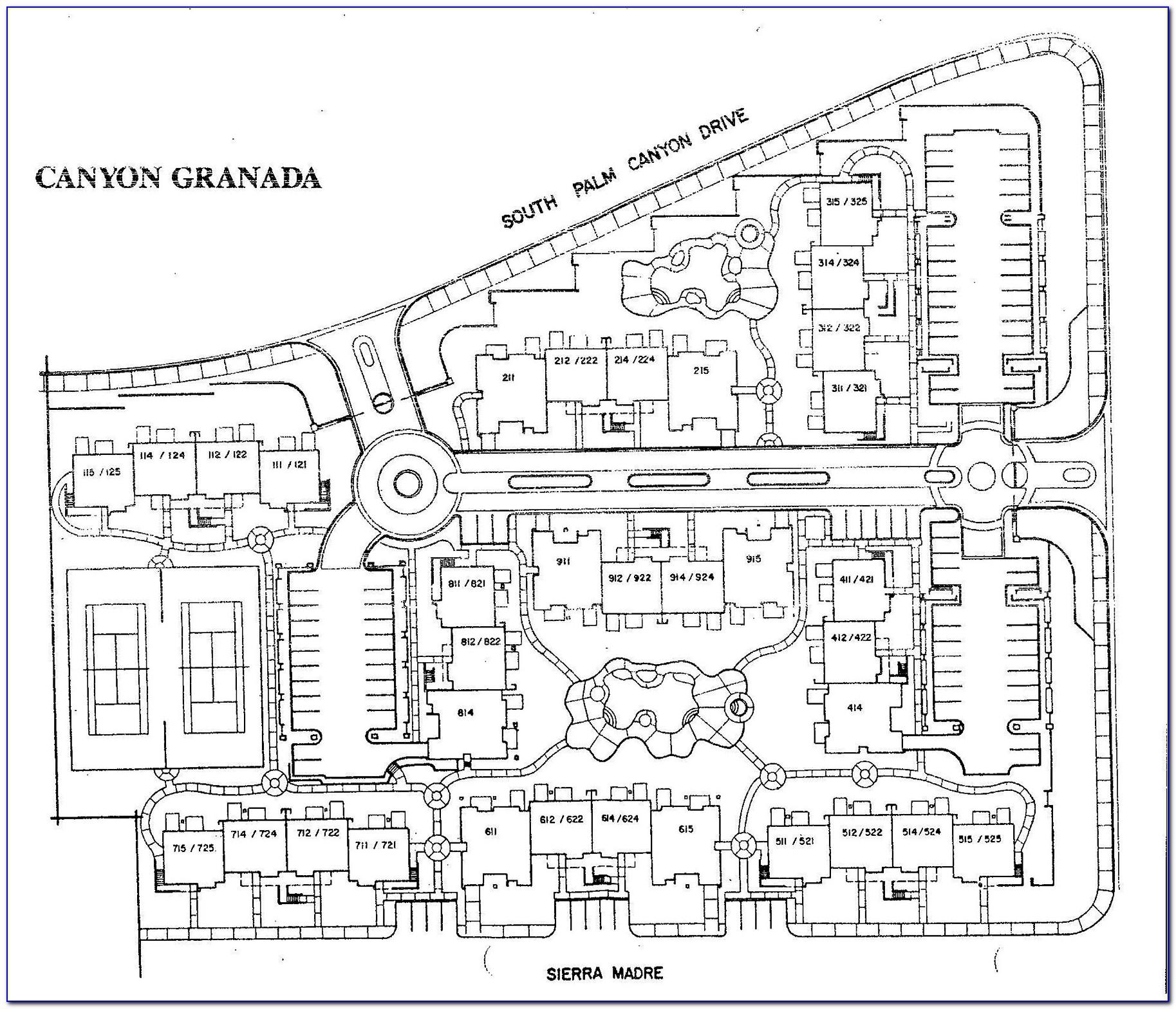 Legacy Villas La Quinta Property Map
