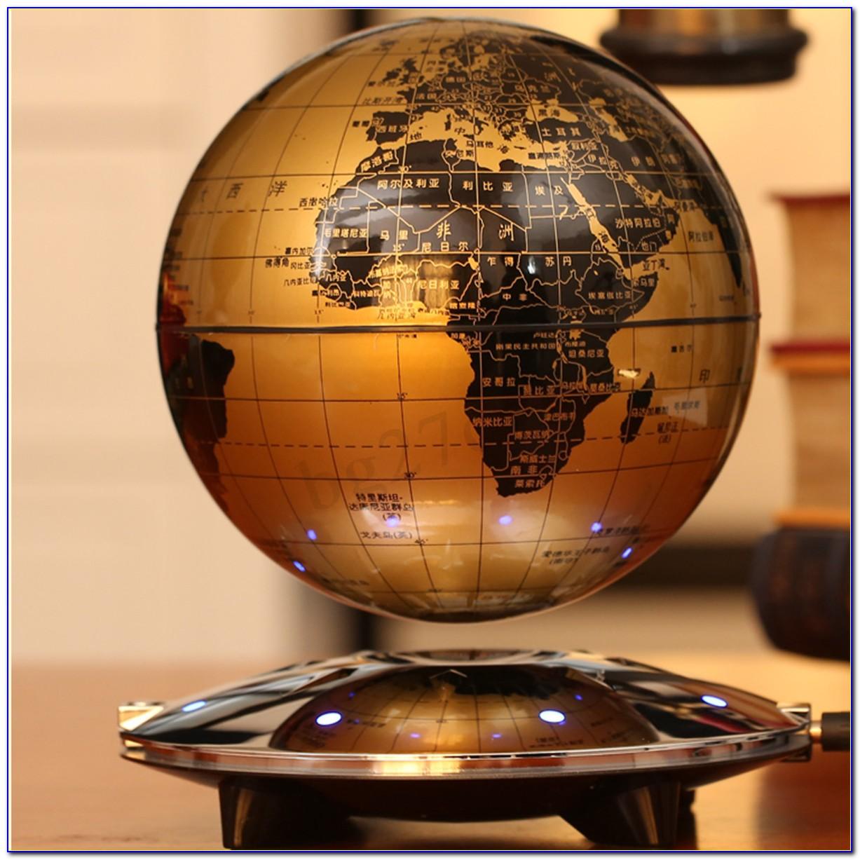 Levitation Floating Globe World Map
