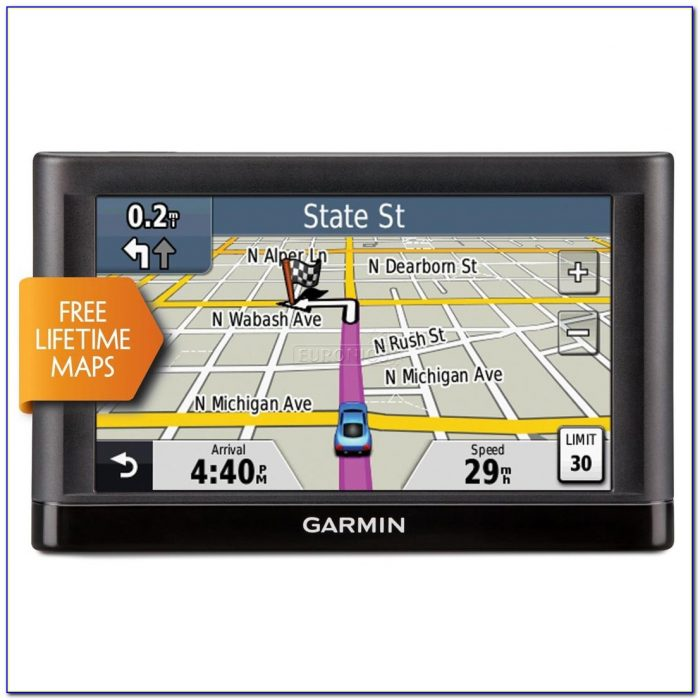 Lifetime Map Updates Garmin