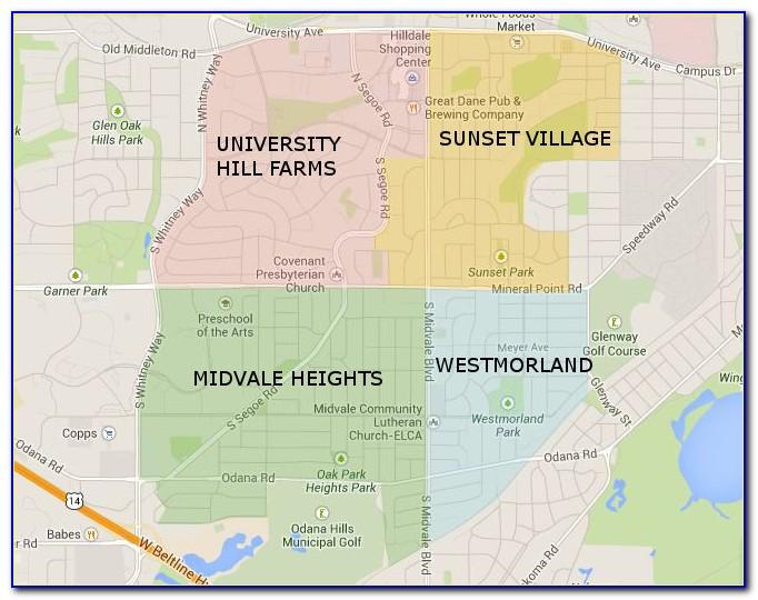 Madison Wi Mls Map