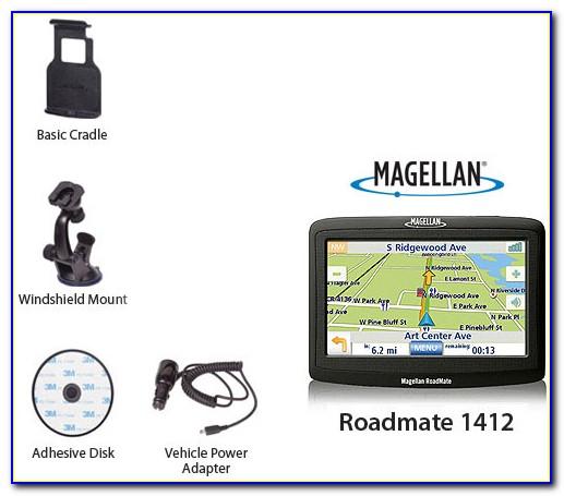 Magellan Roadmate 1412 Gps Navigation Map Update