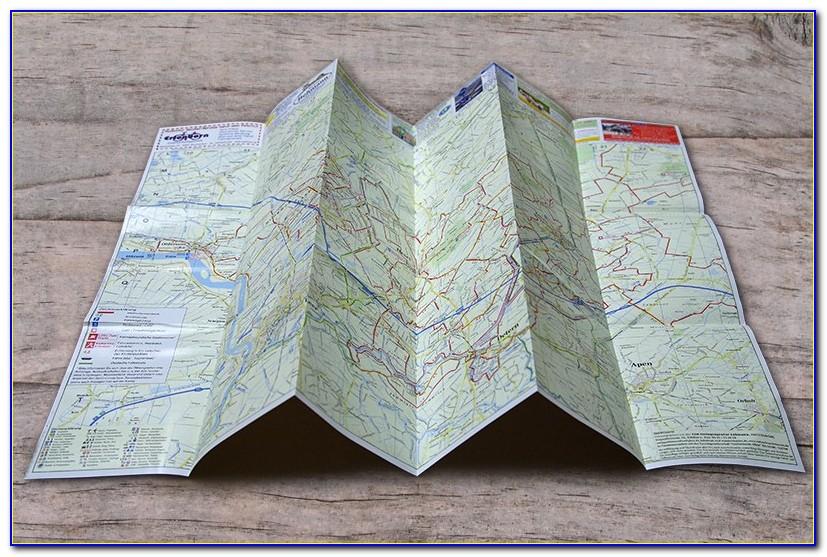 Map Folded Leaflet Printing