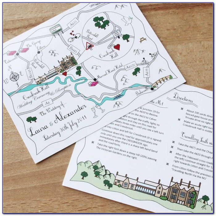 Map Maker For Wedding Invitations