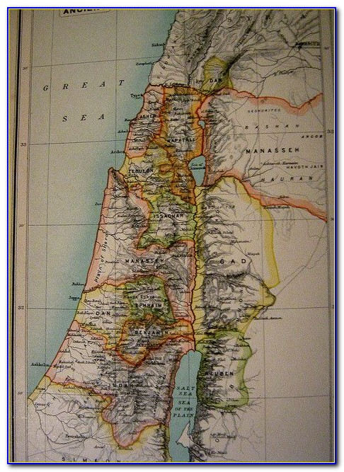 Map Of Ancient Syria Palestine