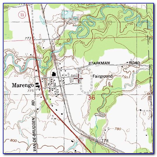 Map Of Ashland Wi Area