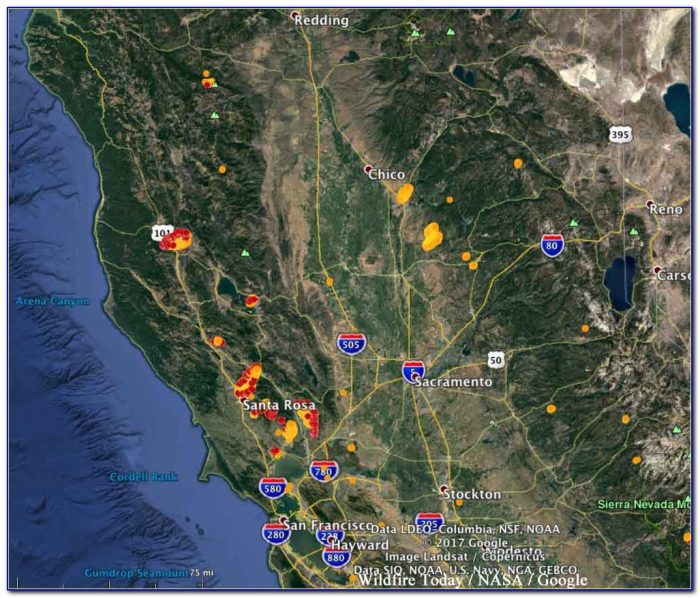 Map Of Best California Wineries
