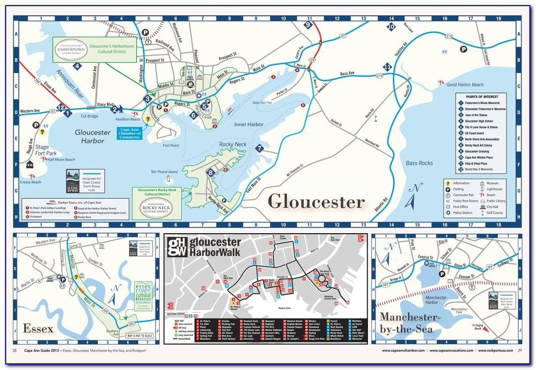 Map Of Cape Ann Massachusetts
