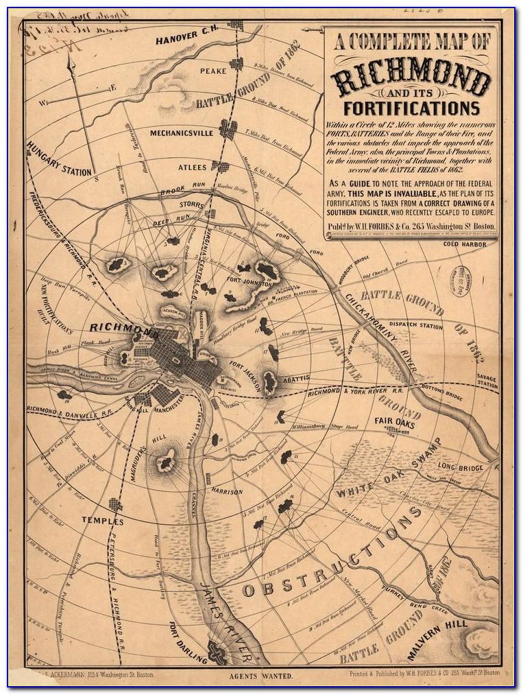 Map Of Civil War Battles In Kentucky
