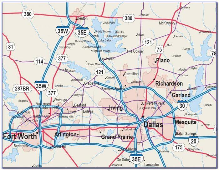 Map Of Dfw Metroplex Zip Codes
