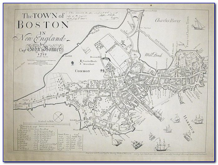 Map Of Hotels In Copley Square Boston