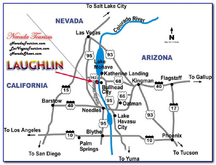 Map Of Hotels In Laughlin Nv