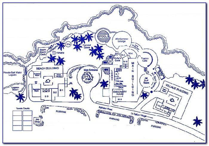 Map Of Hotels Near Kona Hawaii