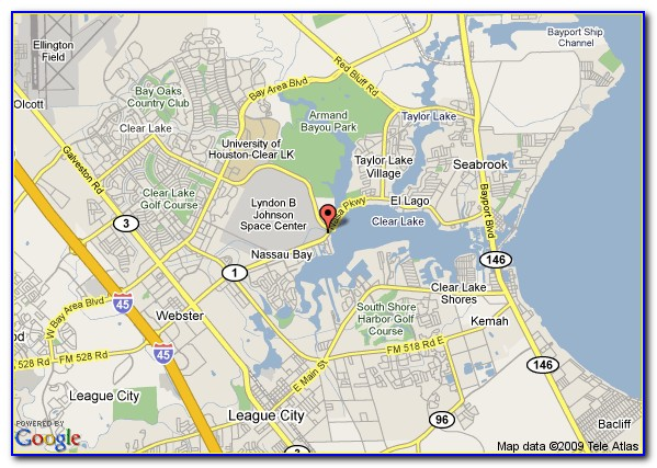 Map Of Lake Houston Tx