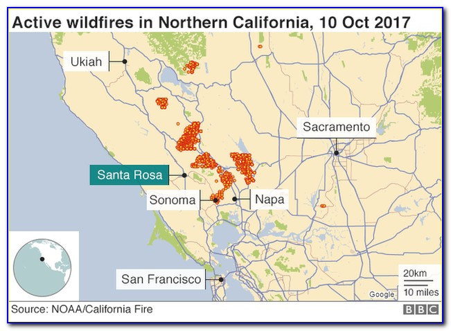 Map Of Napa California Wineries