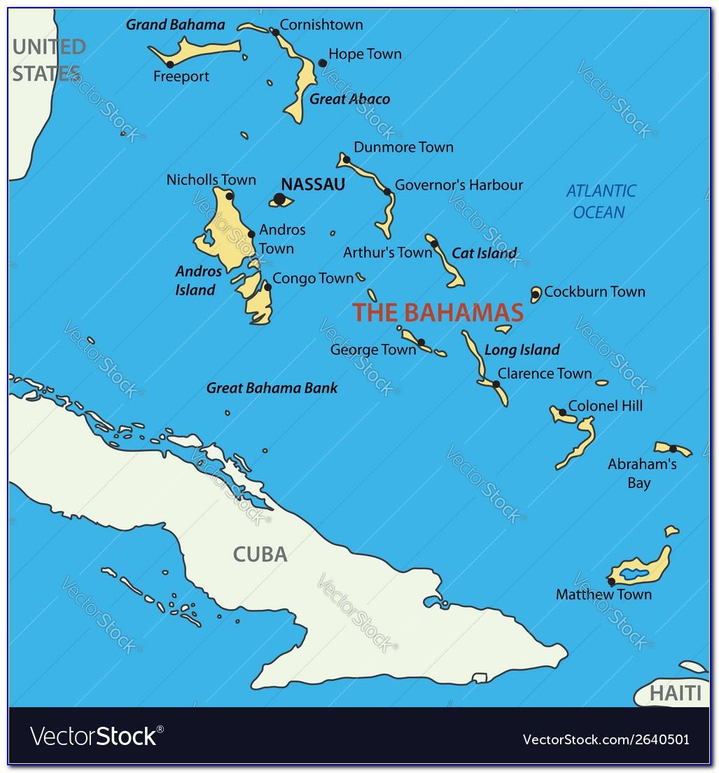 Map Of Nassau Bahamas Airport