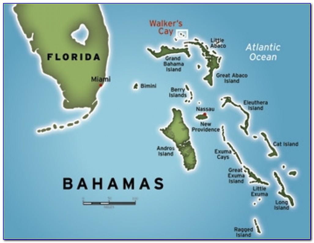 Map Of Nassau Bahamas Attractions