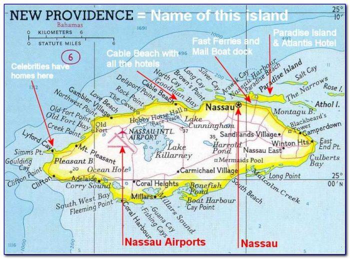 Map Of Nassau Bahamas Cruise Port