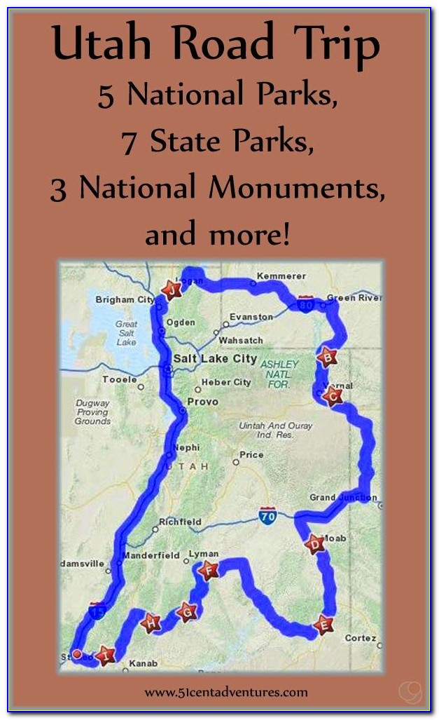 Map Of United States National Parks And Monuments - Maps ...