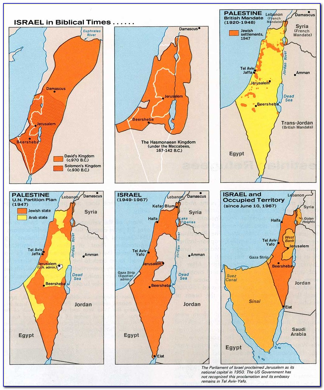 Map Of Palestine Old Testament Time